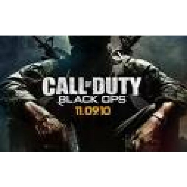 CALL OF DUTY BLACK OPS PREORDER - PC