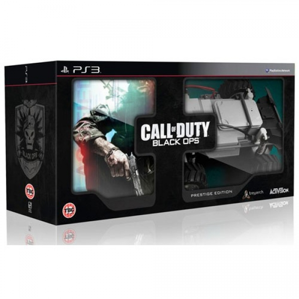 CALL OF DUTY BLACK OPS PRESTIGE EDITION - PS3
