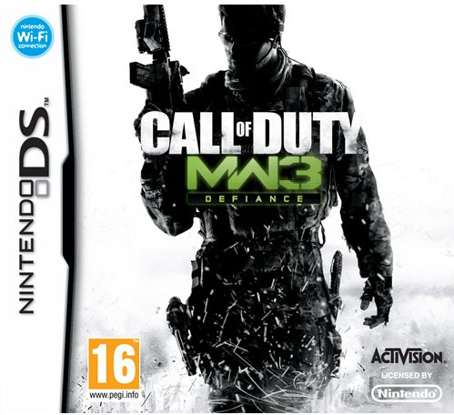 COD MODERN WARFARE 3 - DS