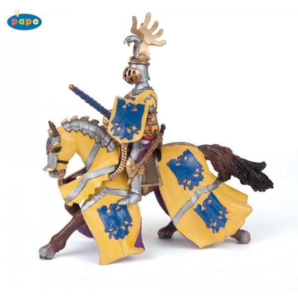 zzCalul cavalerul albastru Godefroy la turnir