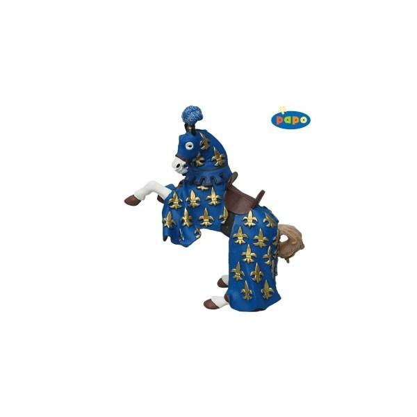 Calul printul Philip, albastru