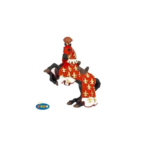 Calul printul Philip, rosu
