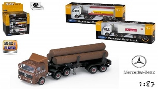 Camion ColorBaby,1:87,div.modele