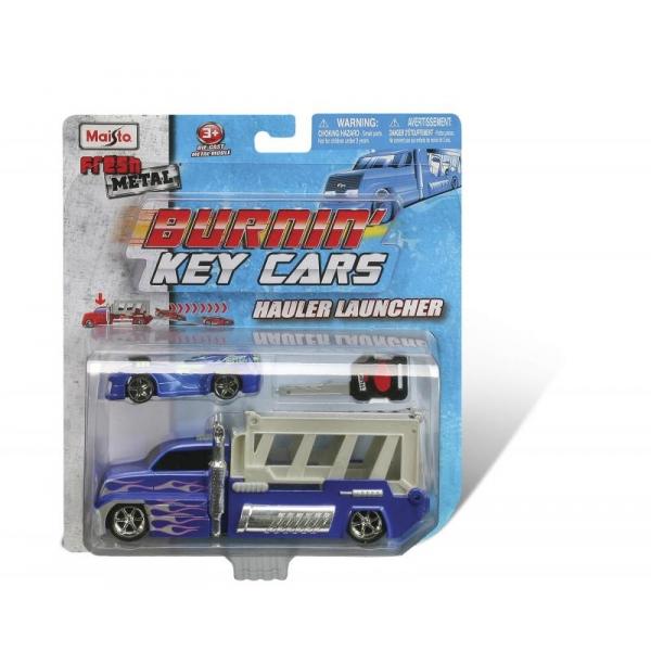 Camion Lansator Burnin Key Cars 1:64