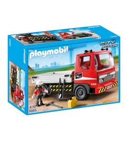 Camion platforma pt constructii