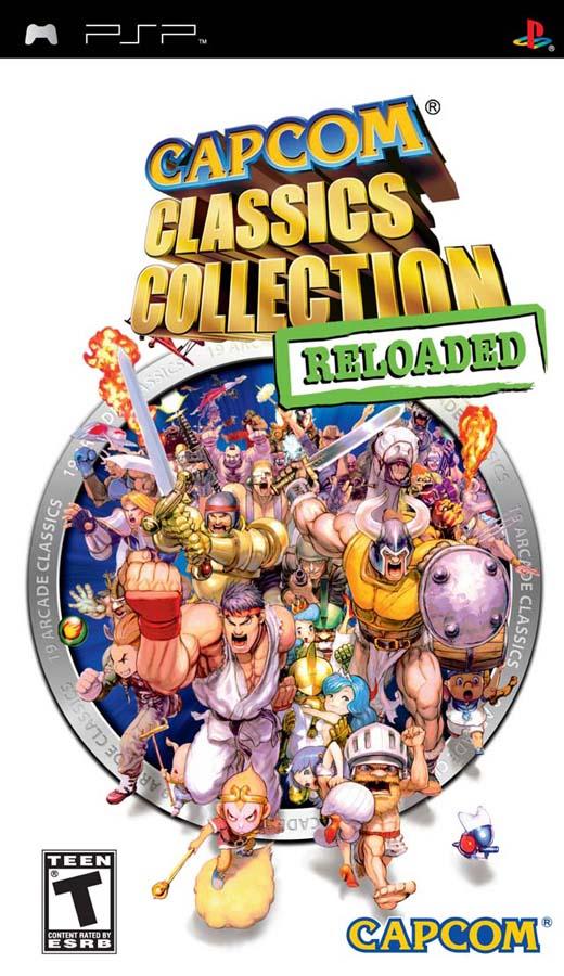 CAPCOM CLASSICS COLLECT RELOADED PSP