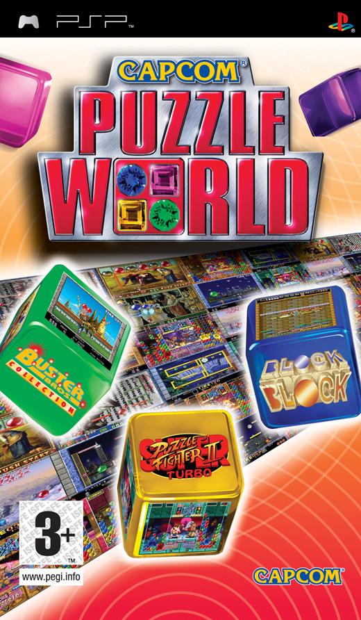CAPCOM PUZZLE WORLD ESSENTIALS PSP