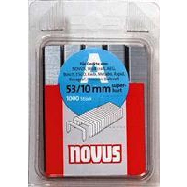 Capse NOVUS 53/10 1000 buc/cutie