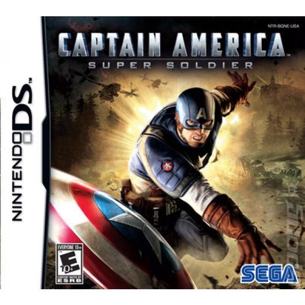 CAPTAIN AMERICA: SUPER SOLDIER - DS