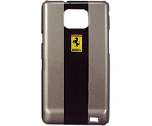 Carcasa Ferrari  SAM i9100 Galaxy S II silver