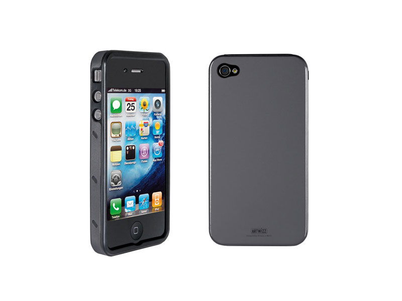 Carcasa iPhone Artwizz SeeJacket Alu antracit