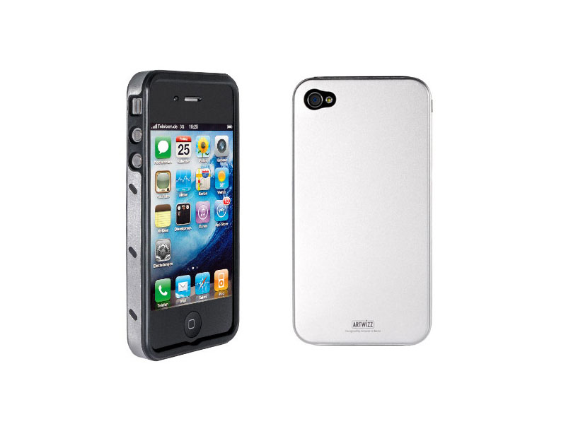 Carcasa iPhone Artwizz SeeJacket Alu silver