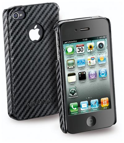 Carcasa iPhone Cellular Line Carbon