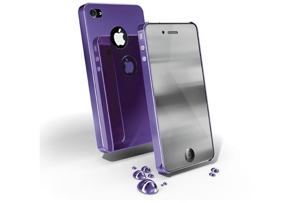 Carcasa iPhone Cellular Line Chrome Vl