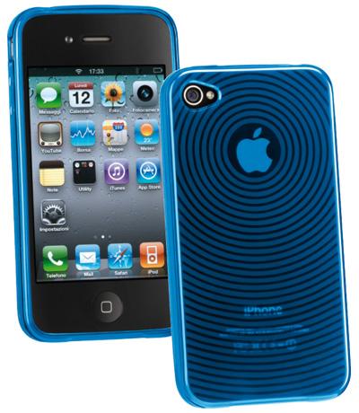 Carcasa iPhone Cellular Line Circle Bl