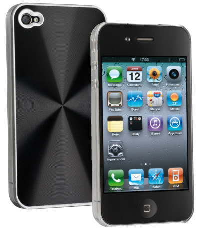 Carcasa iPhone Cellular Line Disco Black