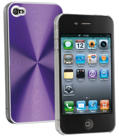 Carcasa iPhone Cellular Line Disco Violet