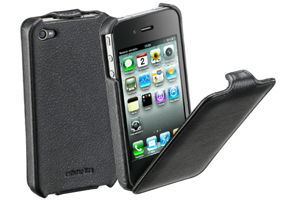 Carcasa iPhone Cellular Line Flap Black
