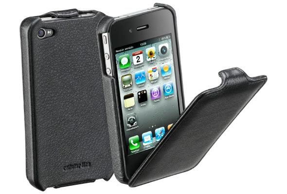 Carcasa iPhone Cellular Line Flap Black