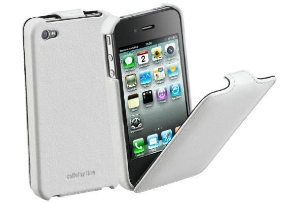 Carcasa iPhone Cellular Line Flap White