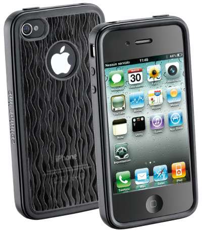 Carcasa iPhone Cellular Line Fusion Bk