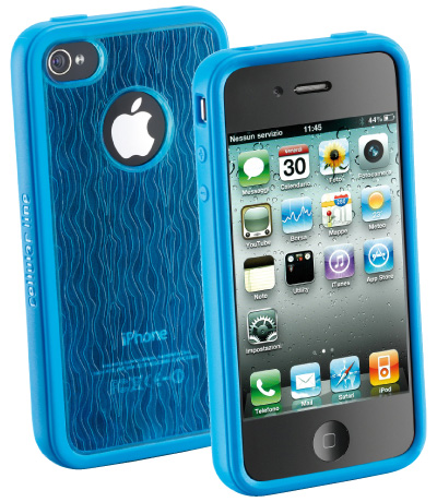 Carcasa iPhone Cellular Line Fusion Bl