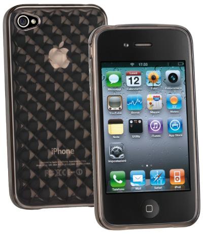 Carcasa iPhone Cellular Line Glam Grey