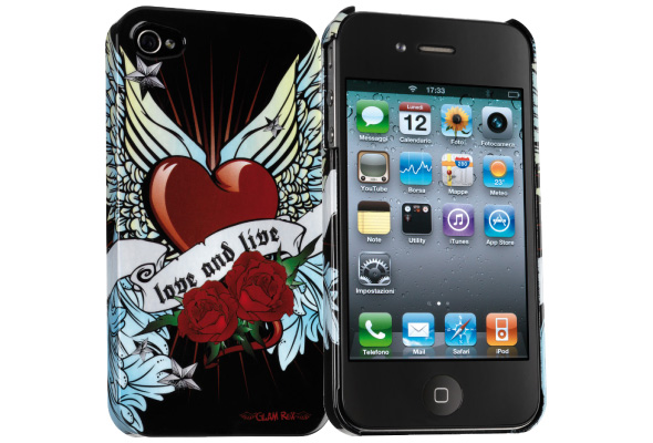 Carcasa iPhone Cellular Line Glam Rox V2