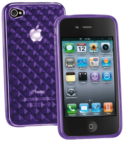 Carcasa iPhone Cellular Line Glam Violet