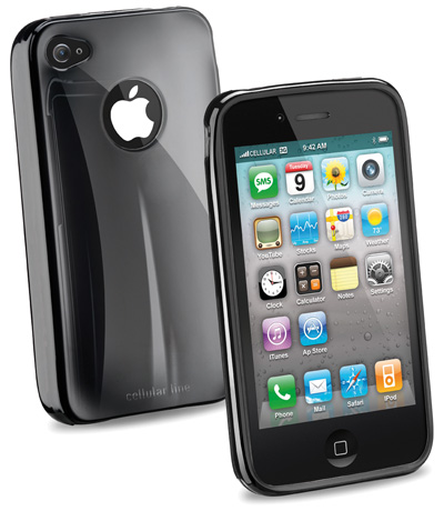 Carcasa iPhone Cellular Line Shocking Bk