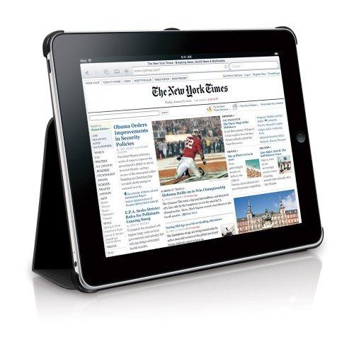 Carcasa Macally iPad cu stand black