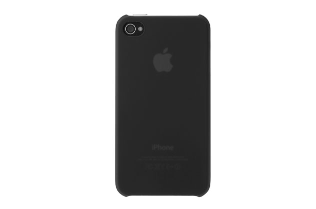 Carcasa Macally iPhone 4 Black