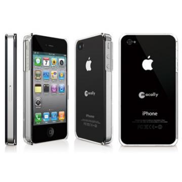 Carcasa Macally iPhone 4 cu stand