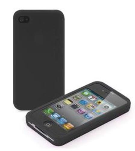 Carcasa Tucano Colore silicon pentru iPhone 4 Neagra