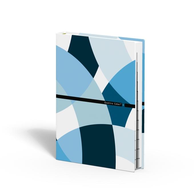 zzCarnet adrese A6,QuattroColori+,bleu