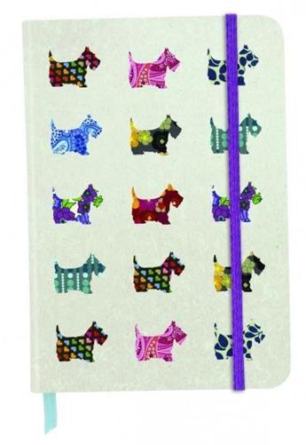 Carnet cu elastic Scottie Dogs