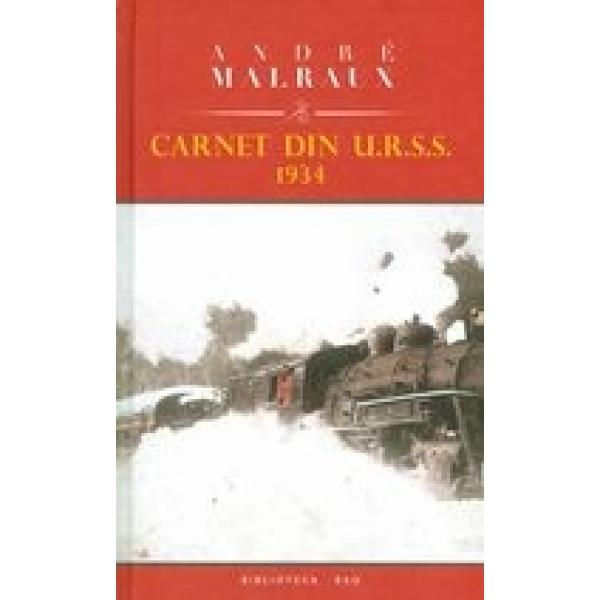 CARNET DIN URSS 1934