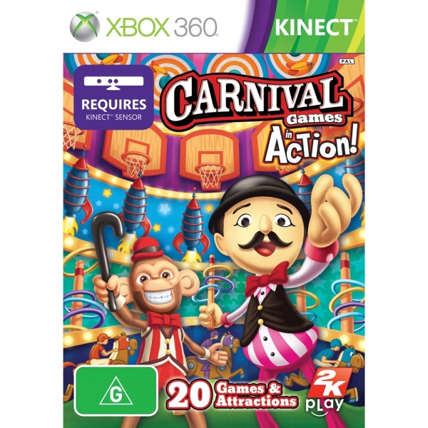 CARNIVAL GAMES IN ACTIO XBOX360