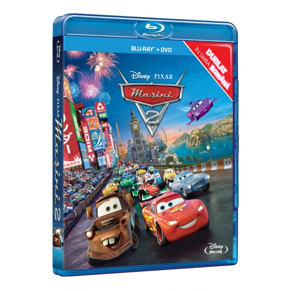 CARS 2 (BR+DVD)-MASINI 2 (BR+DVD)