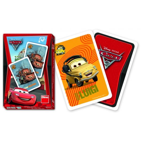 Cars 2 - Carti de joc Popa Prostu, 52 pcs.