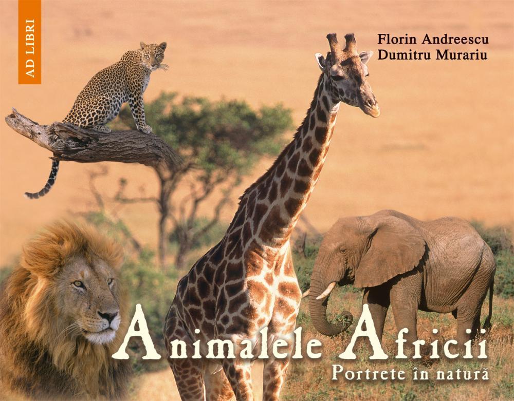 CARTE ANIMALELE AFRICII .