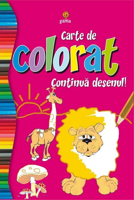 CARTE COLORAT CONTINUA DESENUL/COLORAT 80