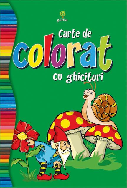 CARTE COLORAT CU GHICITORI/COLORAT 80