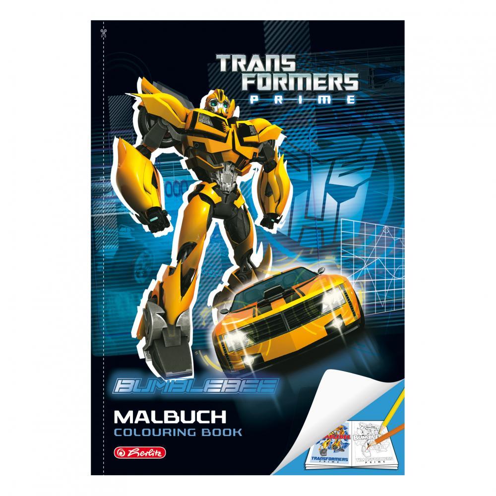 Carte de colorat A4 Transformers,32file