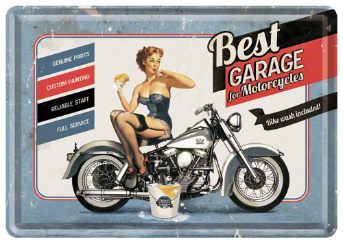 CARTE POSTALA BEST GARAGE