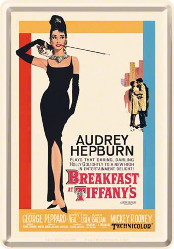 CARTE POSTALA BREAKFAST AT TIFFANYS