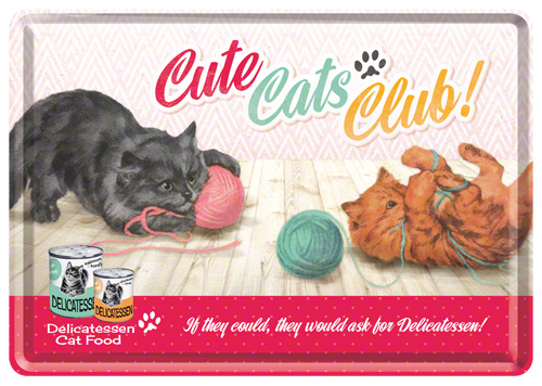 CARTE POSTALA TWO CATS