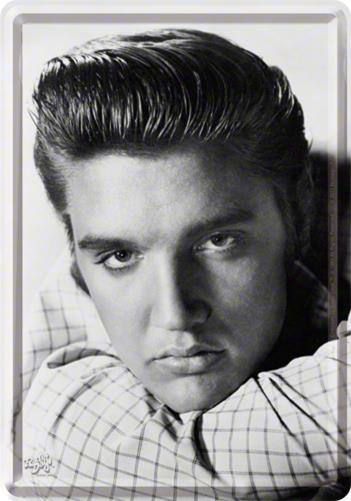 CARTE POSTALA ELVIS PORTRAIT