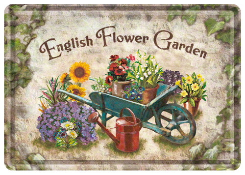 Carte postala English Flower Garden