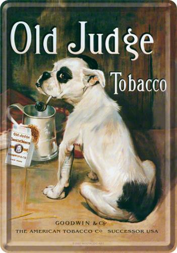 CARTE POSTALA OLD JUDGE